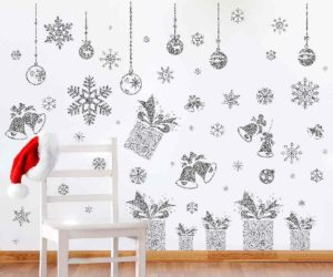 Glitter Snowflakes for Windows and Walls
