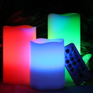 Multicolour Flameless Candles