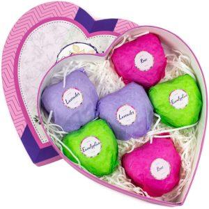 Bath Bombs Gift Basket