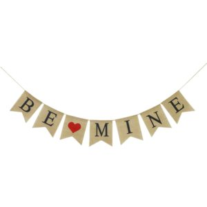Be Mine Burlap Garland