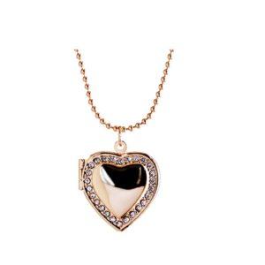 Love Heart Locket Necklace