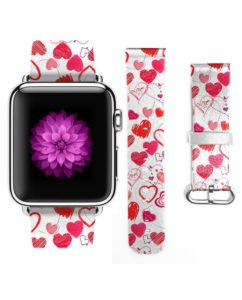 Love Hearts Graffiti Apple Watch Wrist Band
