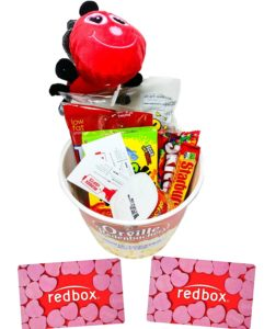 Movie Night Gift Basket for Valentines Day