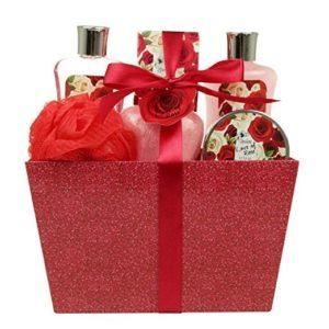 Valentine Day Spa Gift Basket