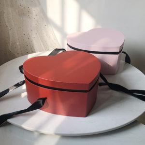 Heart Shaped Cardboard Treat Boxes
