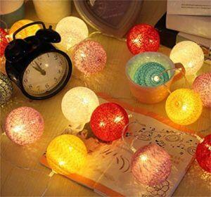 String Lights for Holi Decoration