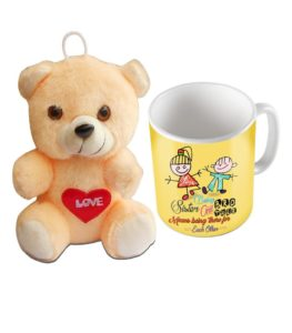 Coffee Mug with Rakhsha Bandhan Teddy Combo