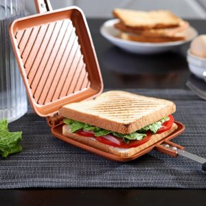 Flipwich Non-Stick Grilled Sandwich and Panini Maker