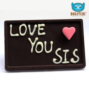 Personalized Dark Chocolates