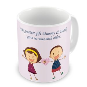 Printed Coffee Mug Rakhi Combo