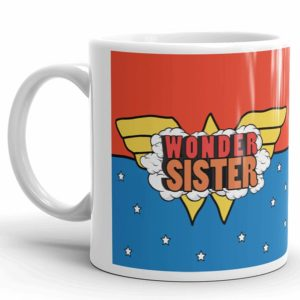 White Coffee mug for Sister