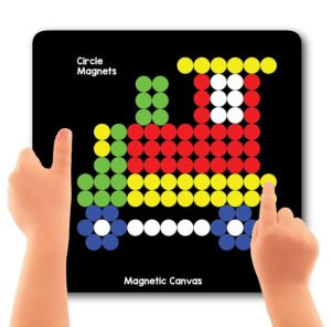 Magnetic Puzzle Circles