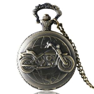 Motorbike Vintage Pocket Watch