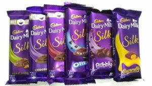 Pack of 6 Dairy Milk Silk