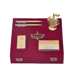 Pens, Paper Weight and Card Holder Gift Set