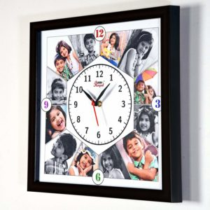 personalized photo frame collage watch
