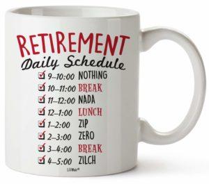 LiliWair Retirement coffee mug gift