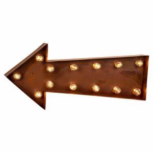 Arrow Light Up Sign