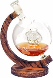 Decanter with Law Enforcement Badge