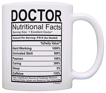 graduations gifts for doctors - Coffee Mug Tea Cup White