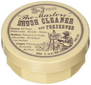 General Pencil The masters brush cleaner and preserver