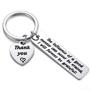 JZSTA Mentor Appreciation Keychain - gifts for professors