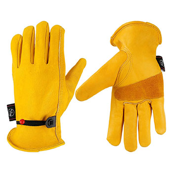 Kim Yuan Leather work gloves - Gifts for ranchers