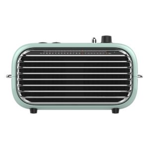 Mini vintage bluetooth speaker