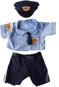 Police Uniform Out fit teddy bear Clothes