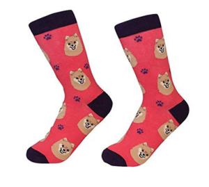 Pomeranian Dog Breed Socks Unisex