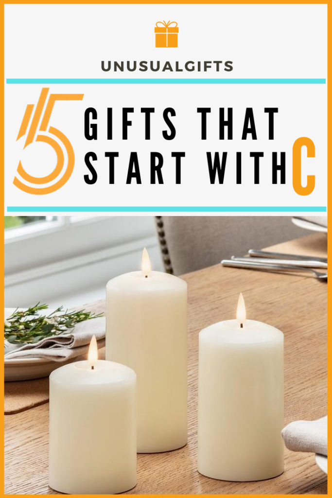 gifts that start with c