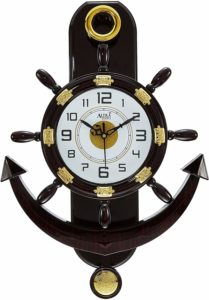 Altra Plastic's Pendulum Wall Clock