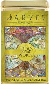 Jarved Teas of The World Assorted Gift Box Set