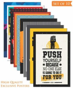 Paper Plane Design's Inspirational Wall Poster (Set of 10)
