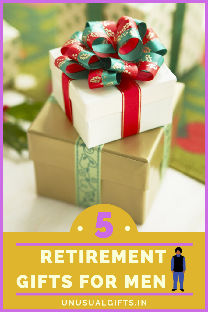 Retirement gifts for men