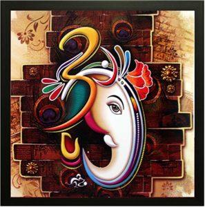 SAF's 'Ganesha' Framed Painting