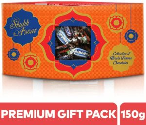 SNICKERS' Shubh Avsar Assorted Chocolates Diwali Gift Pack-150g