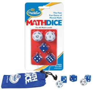 ThinkFun Math Dice Fun Game