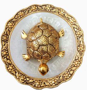 Trendy Crafts' Metal Feng Shui Tortoise