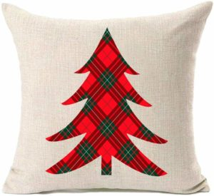 Christmas Tree Home Decorative Pillow Covers