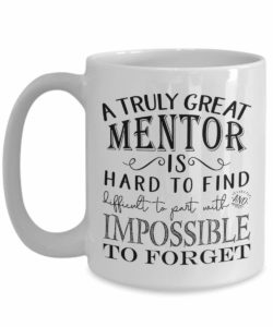 Coffee Mug - gifts for mentors