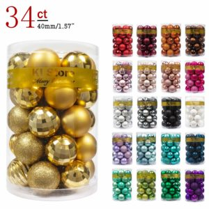 Decor Ball Ornaments - Eco Friendly Christmas Tree Ideas