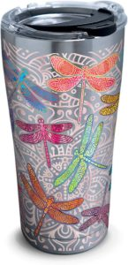 Dragonfly Mandala Stainless Steel Tumbler - Dragonfly gift ideas