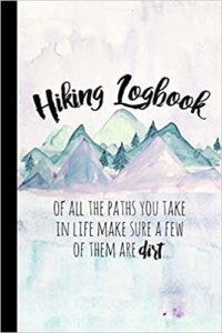 Hiking Logbook - best gifts for hikers