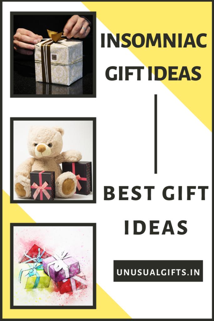 Insomniac Gift Ideas