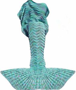 Mermaid Tail Blanket - minimalist Christmas gifts