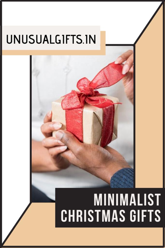 Minimalist Christmas Gifts