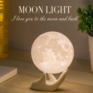 Moon Night Light Lamp - Best Gift exchange ideas