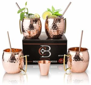 Moscow Mule Copper Mugs - Best Gift exchange ideas