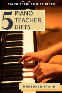 Piano teacher gifts